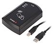 Czytnik RFID | 91,3x57,5x22mm | USB | 5V | Zasięg: 100mm | MIFARE | USB B: RF RFID-USB-DESK-MIF