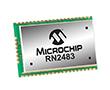 RF Transceiver Module FSK/GFSK/LoRa 434.79MHz/870MHz 3.3V SMD Tray: RF RN2483A-I/RM104