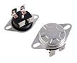 Termostat bimetaliczny 250VAC 15A 80°C z przyciskiem restartującym: TO KSD302-080 15A