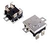 Termostat bimetaliczny 250VAC 15A 80°C z przyciskiem restartującym: TO KSD302-080 insert-pin