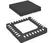 MCU 32-bit LPC1100 ARM Cortex M0 RISC 8KB Flash 3.3V: UILPC1111fhn33203