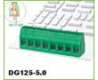 300V, 10A, 24-12AWG, 2.5mm2, prosty, PA66, UL94V-0, M2.5: Z DG125-5.0/4