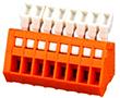 150V, 4A, 28-20AWG, materiał PA66, UL94V-0: Z DG240-2.54/3