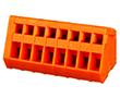 150V, 4A, 28-20AWG, materiał PA66, UL94V-0: Z DG240W-2.54/4