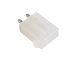 z kluczem, podwójny, bez kołków stabilizujących, cynowane, kolor biały: Z KWM4505-02s-C
