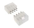 z kluczem, podwójny, bez kołków stabilizujących, cynowane, kolor biały: Z KWM4505-08s-C