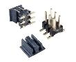 wtyk dwurzędowy 2x03pin, prosty, SMD, styki pozłacane, r.2.00mm. T/R: Z L2x03T 2.0T-LCP