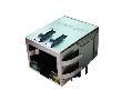 pojedynczy port 10/100 Base-T, LED, montaż poziomy, THT IEEE 802.3: Z LPJ0012GDNL