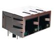 1*2 port 10/100 Base-TX RJ45 z diodami LED, IEEE 802.3: Z LPJ26204AENL