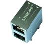 2*1 port 1000 Base-T RJ45 z diodami LED, IEEE 802.3: Z LPJG17561BGNL