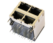 2*2 port 1000 Base-T RJ45 z diodami LED, IEEE 802.3: Z LPJG27561AENL