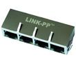 1*4 port 1000 Base-TX RJ45 z diodami LED, IEEE 802.3: Z LPJG46803AENL
