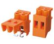 2 pola, r. 7,5mm, wys. 29.6mm, kolor pomarańczowy: Z TLR60/2