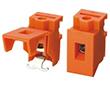 1 pole, r. 15mm, wys. 29.6mm, kolor pomarańczowy: Z TLR61/1