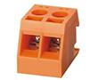 2 pola, r. 7,5mm, wys. 18.4mm, kolor pomarańczowy: Z TLR62/2