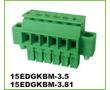 250V (VDE), 7A, 28-16AWG, 1.5mm2, PBT, UL94V-0: Z15EDGKBM-3.5/05