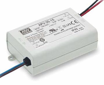 Zasilacz impulsowy jednowyjściowy do LED 36W 12V 3A: ZA APV-35-12