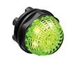 Lampka kontrolna 22mm, podświetlenie LED 24VAC, 24VDC, wypukła: PRZ 14-060.507