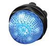 Lampka kontrolna 22mm, podświetlanie LED 24VAC 24VDC, wypukła: PRZ 14-060.607