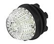 Lampka kontrolna 22mm, powietlanie LED 24VAD 24VDC, wypukła: PRZ 14-060.907