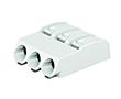 złączka SMD do płytek drukowanych, Przyciski, 0,75mm2, raster 4mm, 3-bieg.: ZW2060-453/998-404