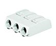 złączka SMD do płytek drukowanych, Przyciski, 1,5mm2; raster 6mm, 3-bieg.: ZW2061-603/998-404