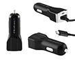 Ładowarka samochodowa 12-24V 12W 5V 2.4A kabel Micro USB: B LAD50138