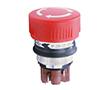 Przełącznik bezpieczeństwa 2-pozycyjne, NC + NO, 16mm, czerwony: PRZ 51-256.025