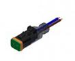 Złącze elektrozaworowe DT gniazdo 2 pin LED-protection circuit M12x1 thread: Z 55-00562