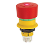 Przełącznik bezpieczeństwa 2-pozycyjne, NC x2, 2A/250VAC, 16mm: PRZ 61-6451.4257