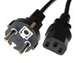 Przewód zasilający sieciowy 230VAC 3PIN-EU 1,8m [PC] do komputera/zasilacza: K ACEUPCC13-1.8m