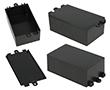 Obudowa plastikowa G1017 ABS czarna: OB G1017