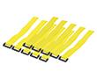 Organizator kablowy, kolor żółty, 10szt: K KAB0015