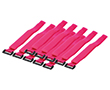 Organizator kablowy, kolor różowy, 10szt: K KAB0016