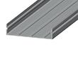 Profil bazowy mocujący zatrzaskowy do LN50; aluminium anodowane; kolor: srebrny: OLT.PR-LNB50-2.0-sa