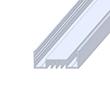 Profil aluminiowy do taśm LSO; aluminium anodowane; kolor: srebrny: OLT.PR-LSO-2.0-sa
