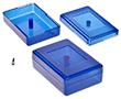 Obudowa kolorowa półprzeźroczysta Z23n niebieska: OB Z23n ABS