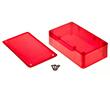 Obudowa kolorowa półprzeźroczysta Z77cz czerwona: OB Z77cz ABS