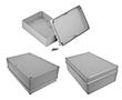 Obudowa hermetyczna z uszczelkami wylewanymi Z95JS jasnoszara: OB Z95JS-IP67 TM ABS