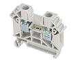 Złączka szynowa, tory: 1, zaciski: 2, zacisk śrubowy, 1000V: ZP ZUG-6A11-A338