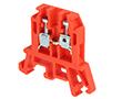 Złączka szynowa, tory: 1, zaciski: 2, zacisk śrubowy, 690V: ZP ZUG-G2.5A11-0077