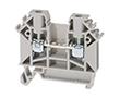 Złączka szynowa, tory: 1, zaciski: 2, zacisk śrubowy, 1000V: ZP ZUG-2.5A11-A138