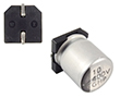 10uF 400V SMD. ø10x12.5mm, temp. Pracy -25÷105°C, tol. ±20%: KERS  10/400/10x12