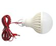 LED bulb 12.0W (equivalent to 90W), cold white (6000K), 900lm, 220°, 12V DC: OLBZ.B12.0W-WIRE_12VDC
