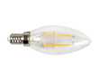 LED Filament bulb, 2W (equiv. to 25W), warm white (2700K), 400lm, 360°, 230V: OLFBC.C2.0W-E14Y