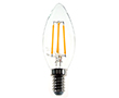 LED Filament bulb, 6W (equiv. to 60W), warm white (2700K), 720lm, 360°, 230V: OLFBC.C6.0W-E14J