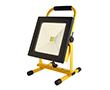 Portable 30W LED flood light w battery (4h), cold white, 2500lm, 120°, 16.8VDC: OLFL.BZ.50Wcn_P