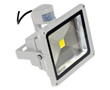 50W LED flood light w/ PIR sensor, cold white, 3200lm, 120°, 230V: OLFL.BZ.50Wks-ms