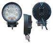 LED work light, 24W, cold white (6000K), 1760lm, 30°, 10÷30VDC: OLI.WK.24W-RO