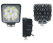 LED work light, 27W, cold white (6000K), 1980lm, 30°, 10÷30VDC: OLI.WK.27W-ED